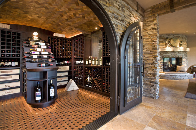 Wine cellars a rising trend in luxury homes the o 39 dell for Wine rooms in homes